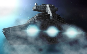 Picture space, Star wars, Star wars, Destroyer, an Imperial cruiser