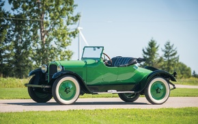 Picture Roadster, Retro, Green, Convertible, Dodge, Car, 1925, Metallic