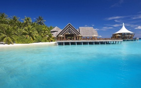Picture the ocean, The Maldives, resort, exotic, water, island, baros maldives resort