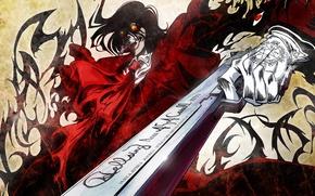 Picture gun, vampire, Alucard, Hellsing, 454 Casull, hellsing