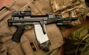 Picture weapons, machine, Vz.58