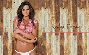 Picture hot, sensual, body, bikini, beauty.model, Krystal Forscutt Wallpapers