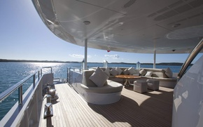 Picture design, style, interior, luxury motor yacht