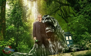 Picture greens, forest, look, trees, actor, male, Doctor Who, Doctor Who, Peter Capaldi, Peter Capaldi, The …
