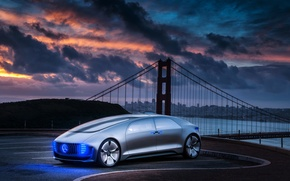 Picture Mercedes-Benz, Mercedes, 2015, F 015, Luxury in Motion