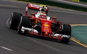 Picture Ferrari, Ferrari, Formula 1, Kimi Raikkonen Also, The front
