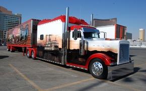 Picture Truck, Peterbilt, Customize, Other Technics, The Gambler