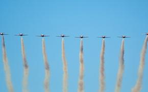 Wallpaper the sky, aviation, aircraft