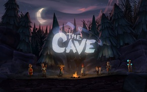 Picture cave, characters, The cave
