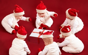 Picture gift, new year, kids