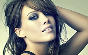 Picture look, face, smile, hair, brunette, hilary duff