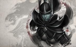 Picture Helmet, Valve, Dota 2, Phantom Assassin, IceFrog, Dager