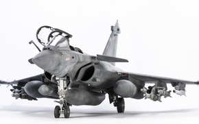 Wallpaper toy, fighter, model, Dassault Rafale M