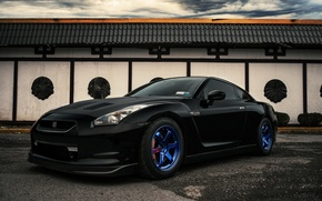 Picture car, black, Nissan, tuning, nissan gt-r, EvoG Photography, Evano Gucciardo