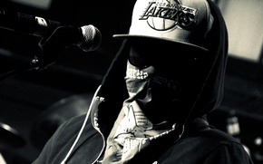 Picture Charlie Scene, Hollywood Undead, LIVE