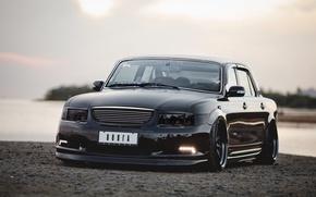 Picture tuning, black, Volga, GAS, VIP, 3110