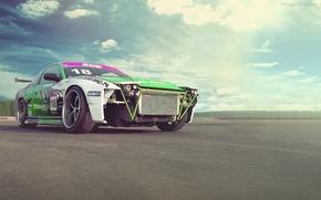 Picture auto, Wallpaper, nissan, drift car, 200sx, machine