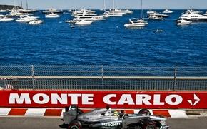 Picture Sea, Yacht, Casino, nico, The car, monaco