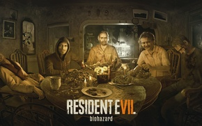 Picture Game, Biohazard, Dinner, Resident Evil 7