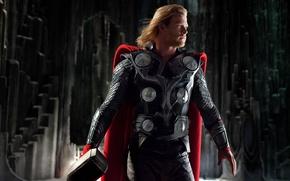 Picture Chris Hemsworth, Viking, God, Hero, Hammer, Chris Hemsworth, Thor, Thor