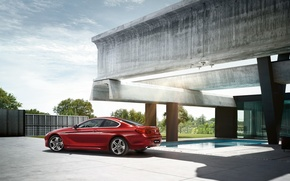 Picture house, BMW, coupe, BMW, Coupe, Playground, 6 series, F13, 2015
