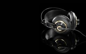 Wallpaper headphones, K240, made in austria