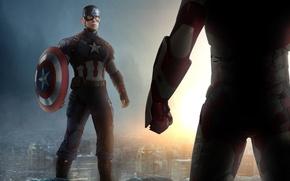 Picture team, Captain America, Captain America, Civil War, The split of the Avengers