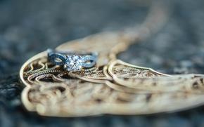 Wallpaper stone, ring, wedding