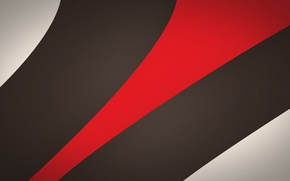 Wallpaper line, red, abstraction, strip