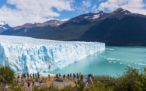 Picture Nature, Mountains, Ice, Argentina, River, glacier, Moreno, Expert
