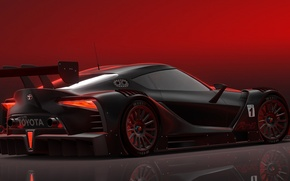 Picture car, concept, Toyota, FT-1