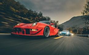 Picture 911, Porsche, Subaru, Karera, Toyota, 2012, Porsche, Carrera, Subaru, 1993, 993, Toyota, QUICK, BRZ, RWB, …