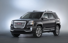 Picture jeep, Denali, Terrain, 2015, black, GMC