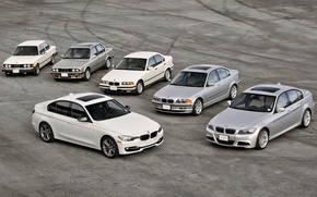Wallpaper bmw, BMW, mixed, e90, E30, e46, 3 Series, E21, e36, f30