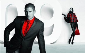 Picture girl, actor, male, Wentworth Miller
