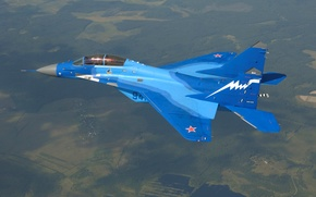 Wallpaper earth, the sky, The MiG-29K, the air