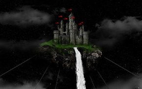 Picture castle, maxmason, floating castle, the legend of the vampire