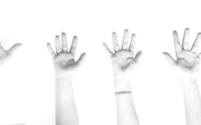 Picture background, hands, family