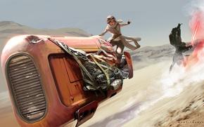 Picture Ray, Star Wars: The Force Awakens, Kylo Ren, Kyle Wren
