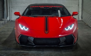 Picture light, lights, Lamborghini, car, Vorsteiner, the front, Huracan, Novara