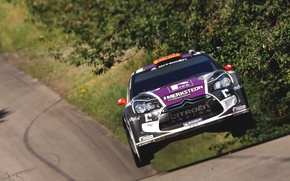 Picture Auto, Sport, Machine, Speed, Race, Citroen, The hood, Citroen, Car, DS3, WRC, Rally, Rally, The ...