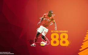 Picture sport, roma, graphic, cska, Seydou Doumbia, Seydou Doumbia