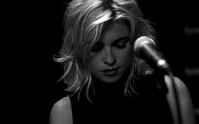 Picture microphone, Cécile Cassel