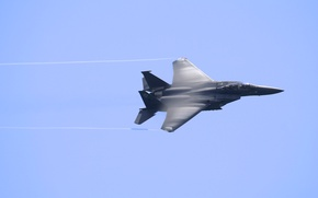Picture flight, blur, fighter, f15