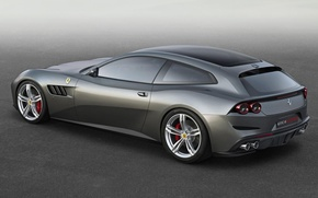 Picture grey, ferrari, Ferrari, gtc, lusso