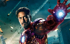Wallpaper iron man, The Avengers, Robert Downey Jr, The Avengers, Robert Downey ml