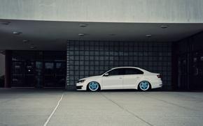 Picture Volkswagen, Jetta, white, MK6, GLI