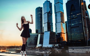 Picture the city, dance, grace, Russia, ballerina, Pointe shoes
