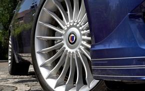 Picture road, wheel, Alpina BMW B7 BI-Turbo