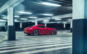 Picture Porsche, Cayman, Parking, GTS